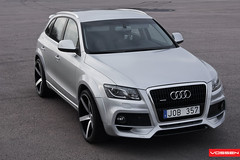 Audi Q5 - VVSCV3 (VossenWheels) Tags: black 22 deep german audi matte concave monoblock machined vossen cv3 q5 vossenwheels