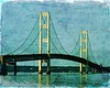 The Mighty Mac (Passion4Nature) Tags: michigan textures upnorth upperpeninsula mackinacbridge suspensionbridges lowerpeninsula moonseclipse themightymac artistictreasurechest magicuniverse magicunicornverybest exoticimage