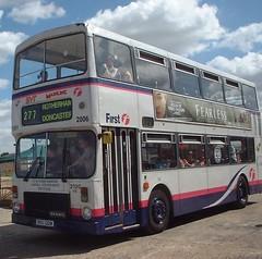 First South Yorkshire KKU120W (Hesterjenna Photography) Tags: travel bus buses coach rally transport first passengers alexander dennis psv decker southyorkshire mainline sandtoft dominator syt sypte kku120w