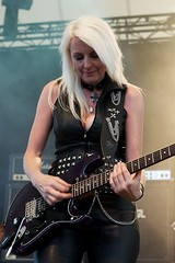 "Girlschool @ RockHard Festival 2012 • <a style=""font-size:0.8em;"" href=""http://www.flickr.com/photos/62284930@N02/7450018548/"" target=""_blank"">View on Flickr</a>"