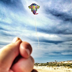 Tiny Kite (kcschiebel) Tags: square squareformat day182 182366 iphoneography blono365 instagramapp uploaded:by=instagram