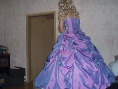 (nylons wow) Tags: dress tgirl transgender prom tranny satin crossdresser shemale ballgown flickrandroidapp:filter=none