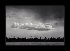 Clouds Over Jenny Lake (Terry L. Olsen) Tags: clouds landscape grandtetonnationalpark niksilverefexpro2