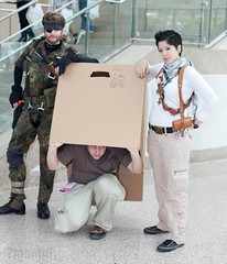 Snake, Drew, and Drake (Heavenly_Kerby) Tags: cosplay snake metalgearsolid nathandrake uncharted3 animeexpo2012