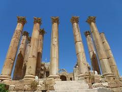 Temple of Artemis, Jaresh. (marc's pics&photos) Tags: old architecture geotagged ancienthistory ruins roman middleeast jordan jaresh