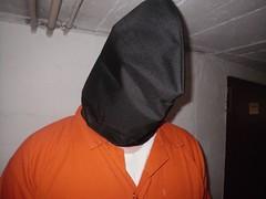 Capture hood (bondagehaj) Tags: mask bondage hood prisoner inmate humane restraint segufix