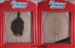 Designer Beaver` (roll the dice) Tags: girls red urban hairy woman london classic girl naked nude nice bush funny paradise body magic bald rude sweaty belly mad magnet shaven beavers shavings hirsute