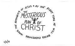 mysterious-plan (Paul Goode) Tags: lotsofnotes biblenote