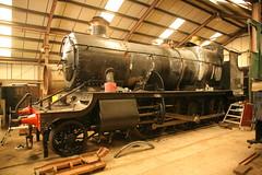 GWR ( Swindon ) Churchward '4300' Class 2-6-0 5322 (DC-7C) Tags: heritage museum train centre swindon engine railway loco class steam locomotive didcot oxfordshire preservation 260 mogul 4300 gwr greatwestern 8322 5322 churchward 43xx img31225