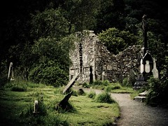 "10th century abbey - Glendalough, Ireland • <a style=""font-size:0.8em;"" href=""http://www.flickr.com/photos/44919156@N00/7596666556/"" target=""_blank"">View on Flickr</a>"