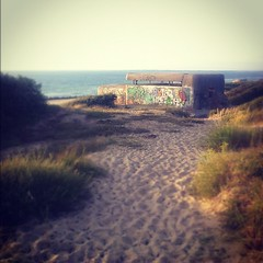 one of the last pockets of German resistance in April 1945 #blockhaus #ww2 #atlanticwall