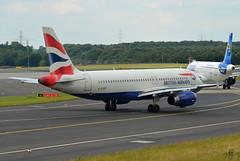 British Airways Airbus A320-232 G-EUUF (EK056) Tags: airport airbus british airways düsseldorf a320232 geuuf