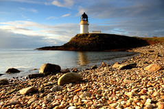 Arnish Point Lighthouse, Stornoway, Isle of Lewis (iancowe) Tags: morning light lighthouse yard sunrise point dawn scotland scottish stevenson outer minch hebrides stornoway arnish lighthousetrek wbnawgbsct