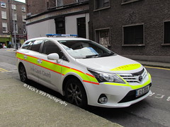 Irish Coast Guard / 12 D 3939 / Toyota Avensis Estate / Incident Response Vehicle (Nick 999) Tags: blue dublin irish lights coast estate d guard led toyota vehicle leds service 12 irv emergency incident response sirens 3939 lightbar avensis