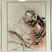 400. Artist signed Tiger Painting