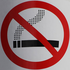 No smoking (Leo Reynolds) Tags: sign canon eos 300mm 7d squaredcircle f80 iso125 signsafety signno hpexif 0002sec signnosmoking signcirclebar xleol30x sqset084