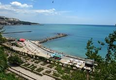 Balcic-Bulgaria-Black Sea (mirela christine2010- in love with beauty) Tags: blue vacation beach landscape bulgaria greatshot blacksea amazingview balcic