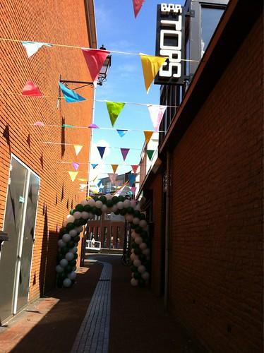Ballonboog 6m Bar Tops Spijkenisse Huldiging Rotterdamboot Winnaar Publieksprijs Canalparade Gaypride 2012