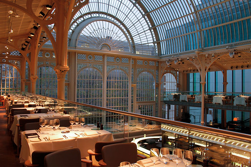 Paul Hamlyn Hall Balconies Restaurant © ROH 2012