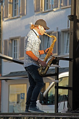 Toni Heidegger, rost:frei (hdzimmermann) Tags: live gig saxophon rostfrei stgallerfest