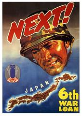Sixth War Loan (paul.malon) Tags: propaganda 1940s ww2 americanwarposters scannedandretouchedbypaulmalon