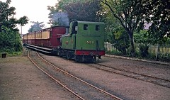 No.11 At Port Soderick HR Scan (Deepgreen2009) Tags: old green station tank engine railway steam passing isleofman uksteam portsoderick