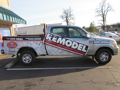 Vehicle Wrap - Woodstone Construction
