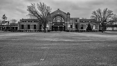 The Baker Street Station (D A Baker) Tags: street dan station baker harrison fort pennsylvania daniel wayne wwii indiana rail da depot service passenger fortwayne danielbaker danielabaker vision:sky=0784 vision:outdoor=0979