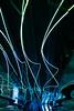 Angie McMonigal Photography-0161 (Angie McMonigal) Tags: chicago motion color lights vibrant futuristic ohareairport oharelights oharetunnel