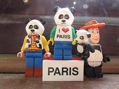 Pandaman loves Paris (annrushworth) Tags: lego minifigure pandaman