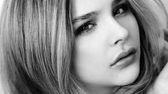 Chloe Grace Moretz Black And White HD Wallpaper (StylishHDwallpapers) Tags: blackandwhite chloe grace american actress moretz