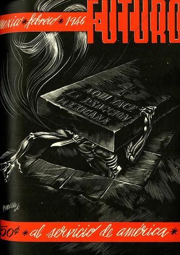 Portada de Josep Renau Berenguer para la Revista Futuro (febrero de 1946)