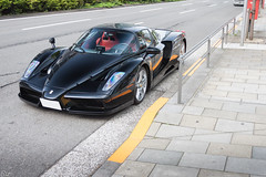 F140 (#Rtrphotography) Tags: street black car sport super ferrari special exotic enzo hyper carbon nero speciale v12
