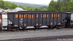 WE 530 (DFaustAltoona) Tags: lake we erie coal hopper wheeling 530