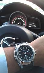 IMAG1254 (psychosan123) Tags: solar watches wristwatch seiko ticktock horology watchporn watchuseek wristfashion wristporn watchfam horophile sne293p2 affordablewrist
