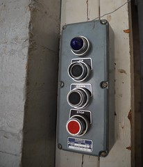 (Sam Tait) Tags: abandoned stairs hospital lift control panel buttons stores asylum derelict ue urbex