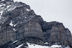 Rugged face of the mountains that make up the Rocky Mountains, Banff, Alberta (Jim 03) Tags: park terrain canada mountains ice face landscapes rocky jim falls alpine national alberta bow glaciers fields banff forests rugged coniferous 1885 2016 jimhoffman jhoffman jim03 wwwflickrcomphotosjhoffman2013 wwwjimahoffmancom