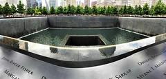 911 Memorial, NYC (PrettyHungry) Tags: city nyc newyorkcity ny newyork memorial manhattan 911 tourist