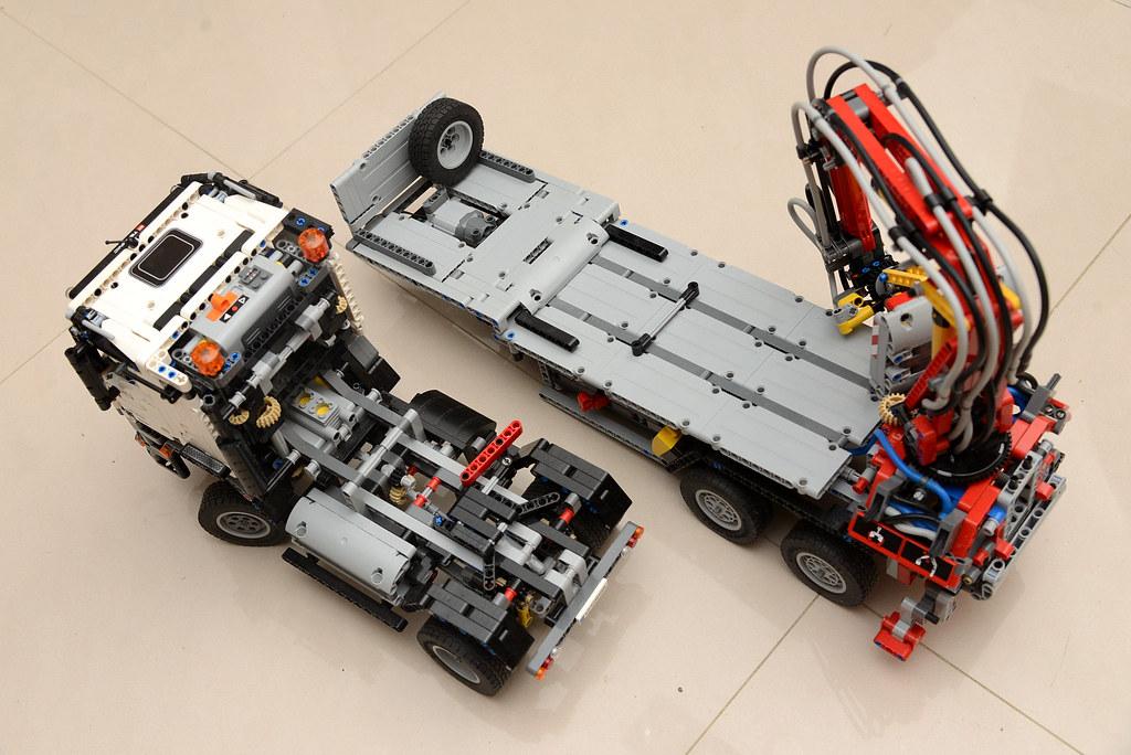 樂高 LEGO 42043 賓士怪手貨卡車 Mercedes-Benz Arocs 3245 B-Model