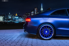 audi-s5-f451-spec2-polished-electron-blue-brushed-lip-8 (AvantGardeWheels) Tags: blue euro electron audi coupe lowered forged polished stance s5 directional 2dr fitment f451