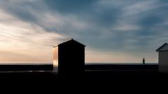 Chercheur d'Or (johan masia) Tags: voyage trip travel viaje sunset seascape france color colour landscape cabin nikon tramonto colore ngc cabina journey paysage crpuscule francia plage viaggio couleur paesaggio coucherdesoleil cabine puestadelsol cayeux d90 cayeuxsurmer apsc