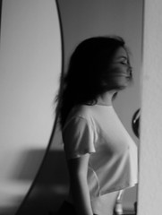 IMG_3683 (Beatrice Toffoletto) Tags: girl beautiful canon myself 50mm mirror blackwhite