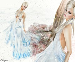 Sabrymoon wearing -Azul- Calypso Gown (Two Too Fashion) Tags: fashion azul style secondlife hautecouture stylish elegance highfashion fashiondress secondlifemodel elegantdress elegantgown azulbymamijewell skyhair fashiongown rezology calypsogown missvirtualworlddress