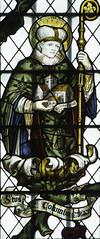 Saint Columba (Lawrence OP) Tags: saint saints monk stainedglass oxford abbot stjohntheevangelist columba columcille kempe ststephenshouse