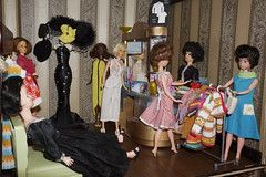 Sindy clothes shop (machigo) Tags: shop ballerina barbie tammy clothes wendy sindy