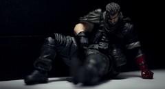 Sad Boss (aaron.kudja) Tags: metal toy sad snake gear venom revoltech mgsv