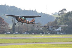 birddog x2 IMG_6395 (ZK-NGJ) Tags: june day open aviation military 05 salute valley spy trust to warbirds cessna nam ardmore syndicate 2016 o1f zknam zkfya 572928 5116903 'dday'