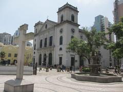 Largo da S (asianfiercetiger) Tags: fountain cathedral macau worldheritage macao  publicsquare largodas  historiccentre