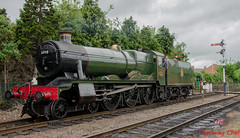 6990 Witherslack Hall (LMSlad) Tags: hall great central railway loughborough gwr 460 collett 6990 witherslack