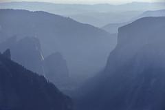 Yosemite Valley from Cloud's Rest, Yosemite National Park, CA (arbabi) Tags: california usa nature america landscape monotone valley granite yosemitenationalpark wilderness hazy elcapitan sierranevada yosemitevalley cloudsrest sierrafoothills mariposacounty seanarbabi tutochanula